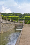 Villandry Castle (Chateau) and gardens. Royalty Free Stock Photography