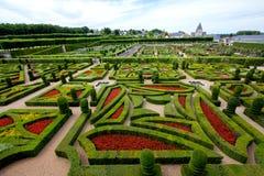 Villandry castle and garden Stock Photo