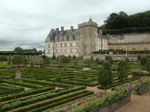 Villandry Castle and Gardens Royalty Free Stock Photos