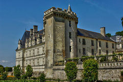 Villandry castle in Val de Loire Stock Photo