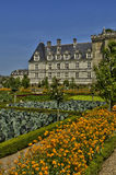 Villandry castle in Val de Loire Royalty Free Stock Photo