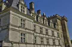 Villandry castle in Val de Loire Royalty Free Stock Photography
