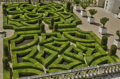 Villandry castle in Val de Loire Stock Photography