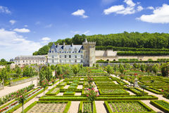 Villandry chateau, France Stock Photography