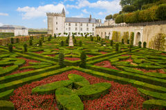 Villandry chateau, France Stock Images
