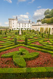 Villandry chateau, France Stock Photo