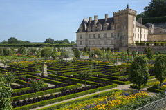 Villandry Chateau & Gardens - Loire Valley - France Stock Photo