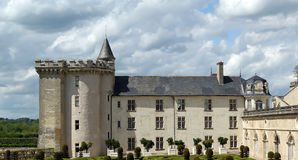Villandry chateau and its garden, Loire Valley, France Royalty Free Stock Image