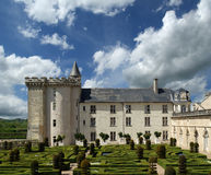 Villandry chateau, Loire Valley, France Stock Photo