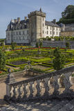 Villandry Chateau - Loire Valley - France Stock Photos