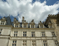 Villandry chateau, Loire Valley, France Royalty Free Stock Images