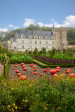 Villandry chateau in the Loire Valley,  France Royalty Free Stock Image