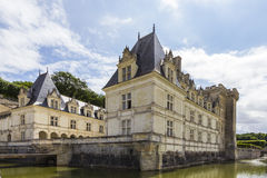 Villandry chateau Royalty Free Stock Images