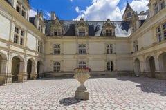 Villandry chateau Stock Photo