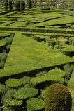 Villandry, formal garden Stock Photo