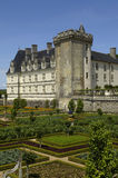 Villandry, formal garden Royalty Free Stock Photo