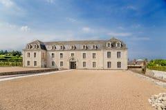 Villandry, Francia Uno de los edificios del complejo del castillo Fotos de archivo libres de regalías