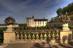 Villandry french castle Royalty Free Stock Photos