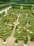 Villandry Garten Lizenzfreies Stockfoto