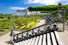Villandry Schloss stockfotos