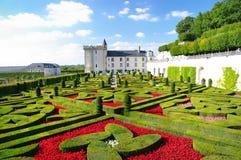 Villandry Schloss Lizenzfreies Stockfoto