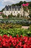 Villandry Schloss, Frankreich stockfotos