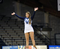Villanova University Cheerleader Stock Photo