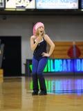 Villanova University Dance Team member - Christmas Royalty Free Stock Photo