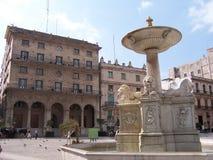 villanueva conde fontann zdjęcia stock