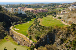 Villapadierna golf Royalty Free Stock Image
