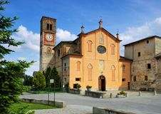Villar San Costanzo Royalty Free Stock Photo