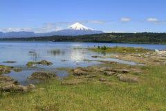 Villarica智利 库存照片