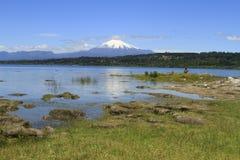Villarica智利 免版税库存照片