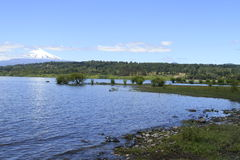 Villarica Chile stock photo