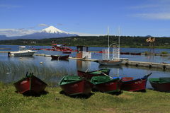 Villarica Chile royalty free stock images
