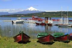 Villarica Chile stock photos