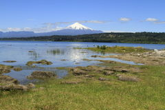 Villarica Cile Fotografie Stock