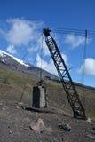 Villarica de Volcan Foto de archivo libre de regalías
