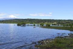 Villarica o Chile Foto de Stock