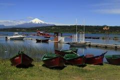Villarica o Chile Imagens de Stock Royalty Free