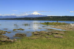 Villarica o Chile Foto de Stock Royalty Free