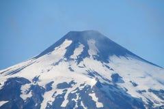 Villarica volcano top royalty free stock photography