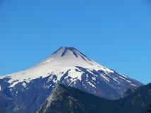 Villarica-Vulkan stockbilder