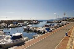 Villaricos Hafen Stockbilder