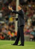 Villarreal coach Juan Carlos Garrido Stock Image