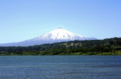 Villarrica Royalty Free Stock Images