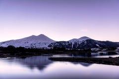 Villarrica jezioro obrazy royalty free