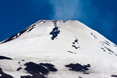 Villarrica Volcano in Chile Stock Photography