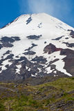 Villarrica Volcano in Chile Stock Images