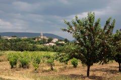 villars села Провансали стоковое изображение